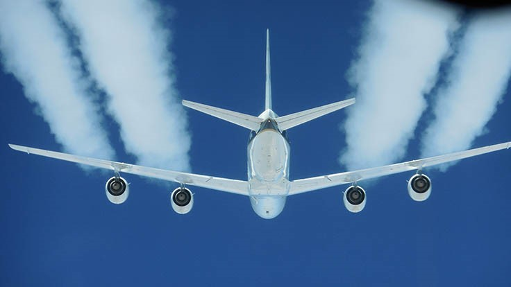 NASA study confirms biofuels reduce jet engine pollution