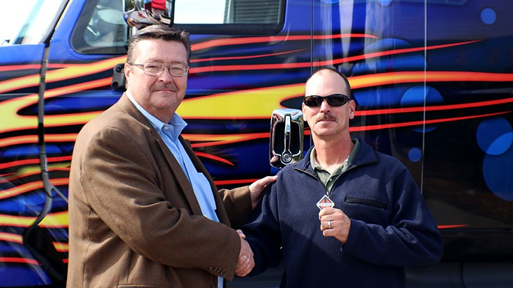 Navistar awards truck to OnCommand Connection sweepstakes winner