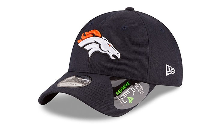 Denver Broncos debut first official NFL cap made with Repreve fabric