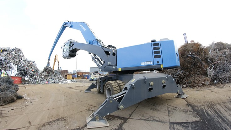 Fuchs adds to material handler line