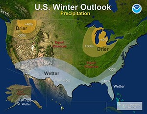 NOAA: Repeat of last year's extremely cold, snowy winter east of Rockies unlikely
