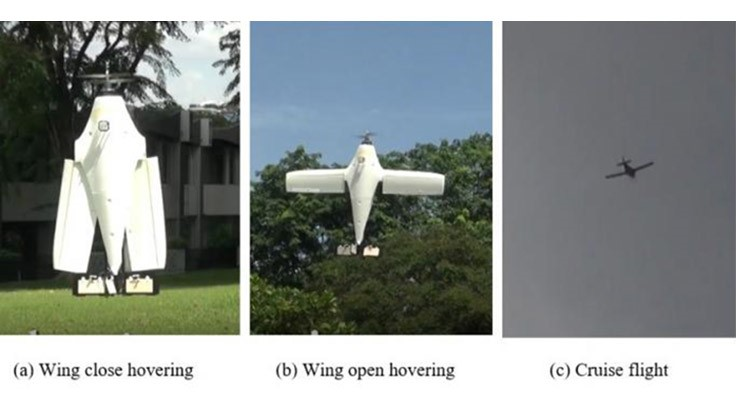 Hybrid UAV may change the way people operate drones