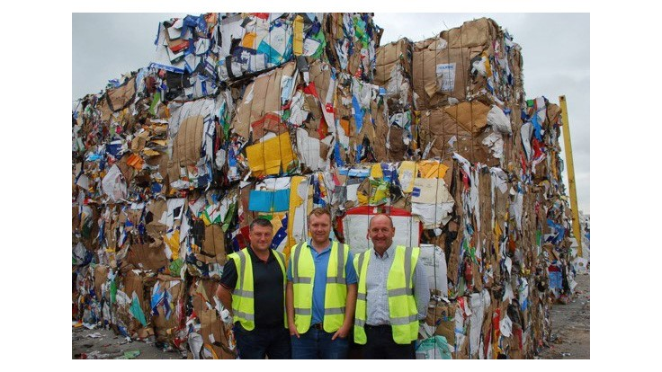 Kadant Paal baler handles large volumes for UK recycler