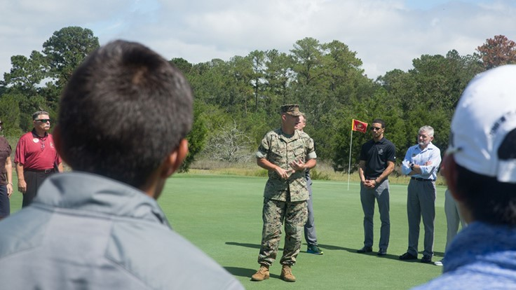 Legends at Parris Island receives Golf Environment Organization certification