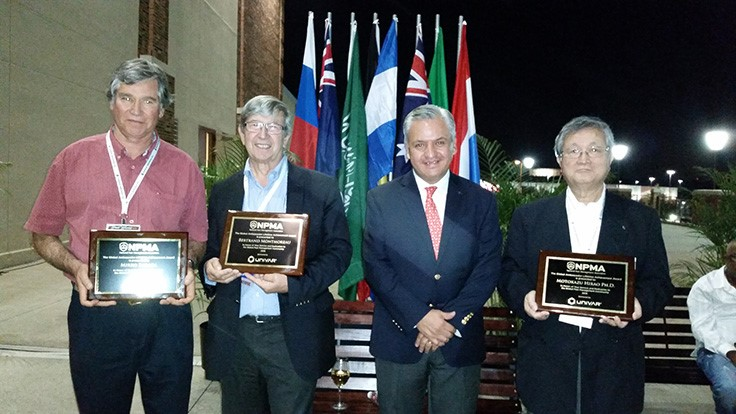 Three Industry Leaders Recognized at Univar International Reception