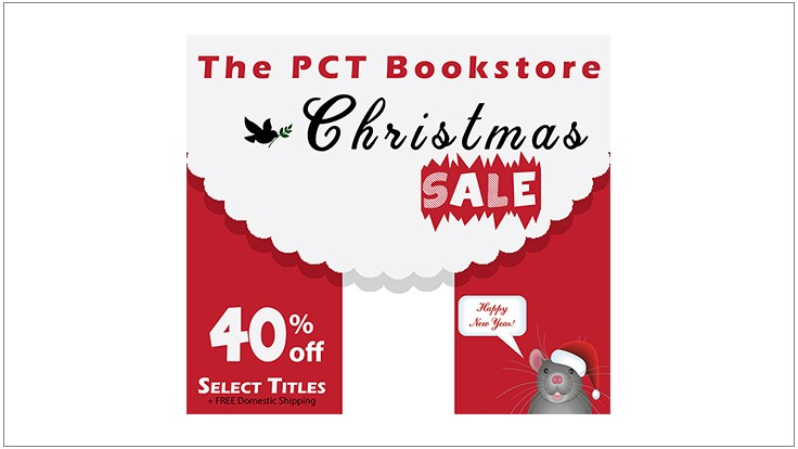 PCT End-of-Year Bookstore Sale!