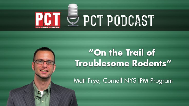 Matt Frye on 'Tracking Troublesome Rodents'