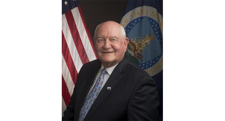 Agriculture Secretary Sonny Perdue announces National Farmers Market Week
