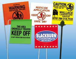 Blackburn Offers Customized Rigid Markers and Flags