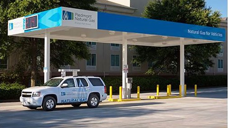 Piedmont Natural Gas station participates in NGV Road Rally