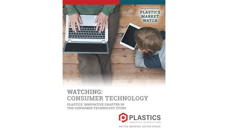 Plastics Industry Association report examines plastics' role in consumer technology