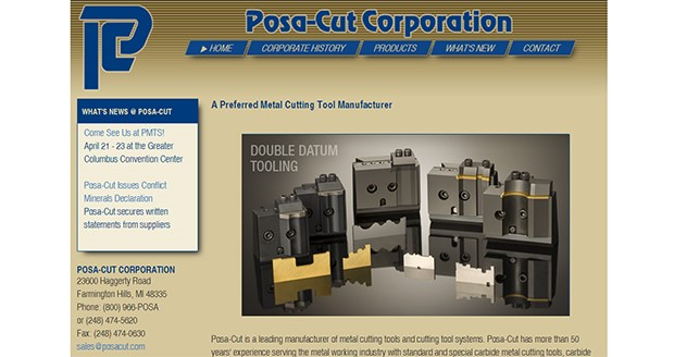 Cutting tool information
