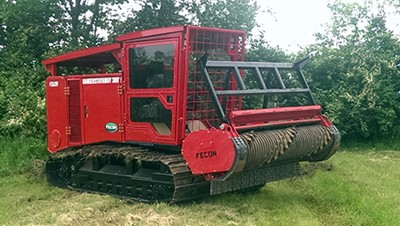 FTX290 Mulching Tractor