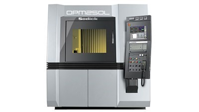 One-Process Metal 3D printing & milling machine