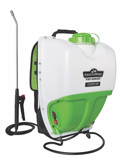 GroundWork 4 gal. Backpack Lithium Ion Sprayer - Lawn