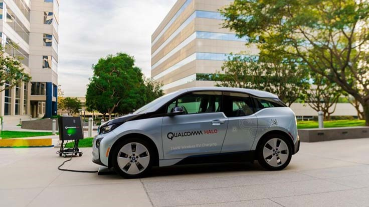 Qualcomm licenses wireless vehicle charging technology to integrator