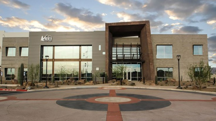 REI distribution center receives LEED Platinum certification