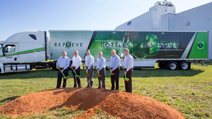 Unifi expands Repreve Recycling Center