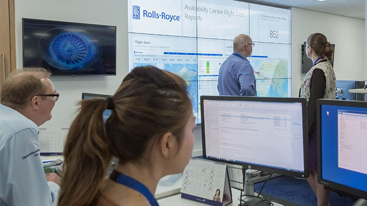 Rolls-Royce opens engine services Airline Aircraft Availability Centre