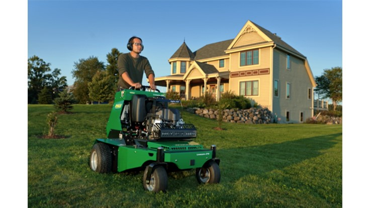 RYAN introduces new stand-on aerator