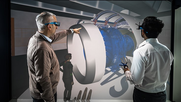 Virtual reality used in production of A330neo nacelles