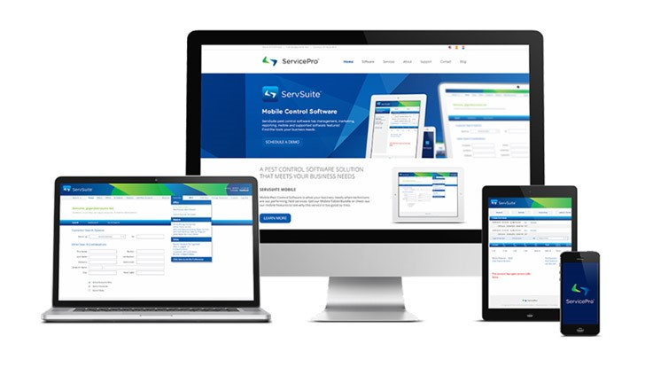 New Look for Service Pro and ServSuite