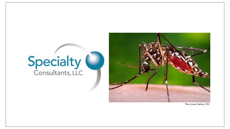 Specialty Consultants Releases Zika and U.S. Mosquito Control Market Report