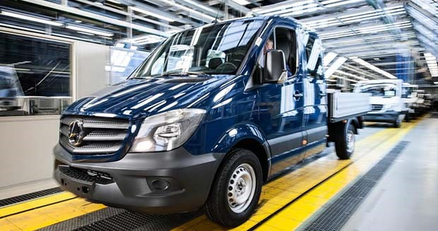 Mercedes to move some Sprinter van production to North America