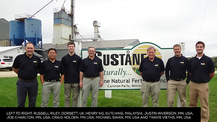 Suståne Natural Fertilizer Natural Fertilizer Holds Annual Global Sales Meeting, Announces New Sales Hires