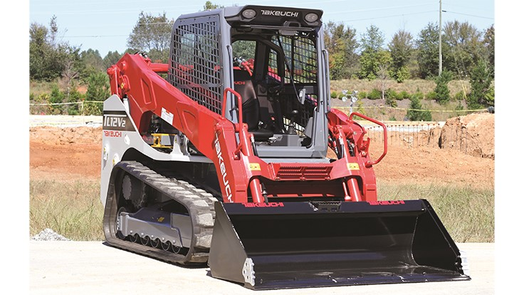 Takeuchi introduces new track loader