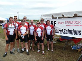 Team Termidor, Mike Merchant Ride for MS