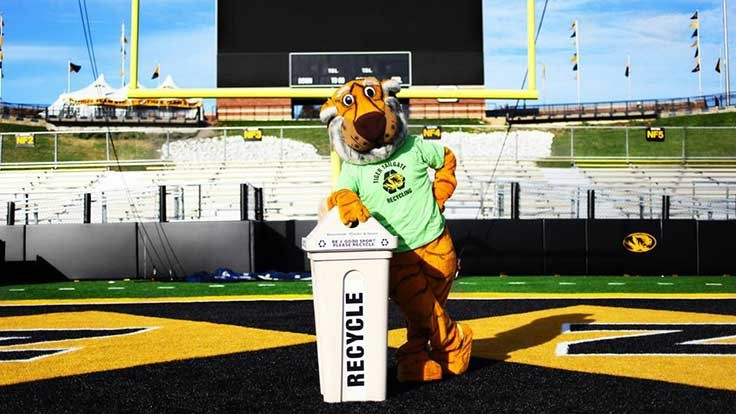 University of Missouri study examines recycling at sporting venues