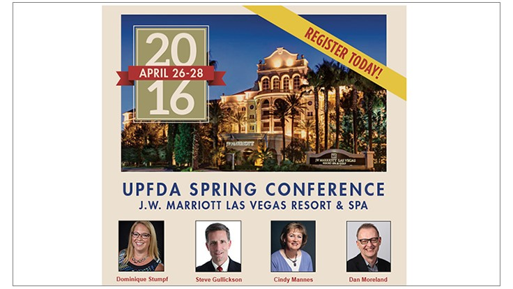 UPFDA Spring Conference Details Announced