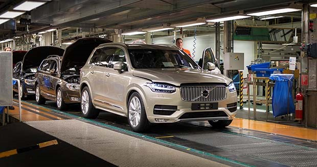 Volvo to build US plant in South Carolina