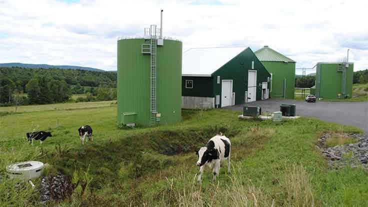 Agrilab installs compost heat recovery system at Vermont farm