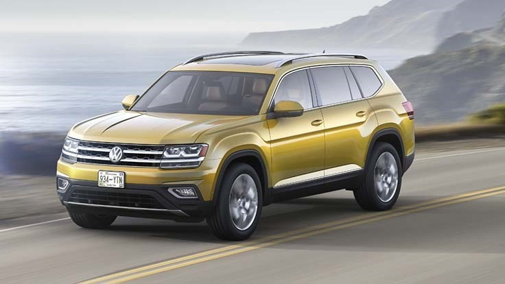 Volkswagen's large SUV takes Atlas name