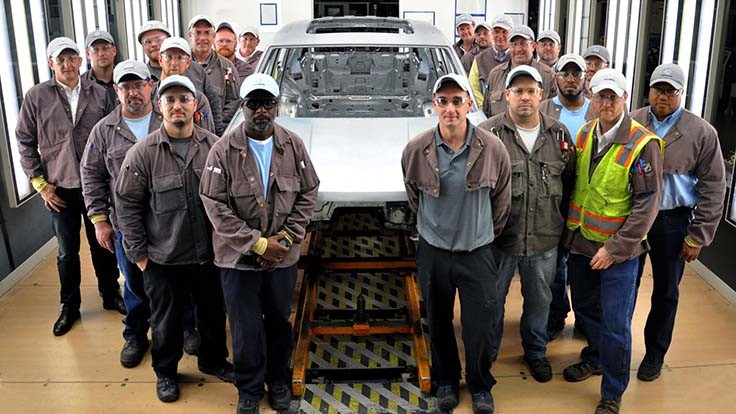 VW completes body build at Chattanooga plant
