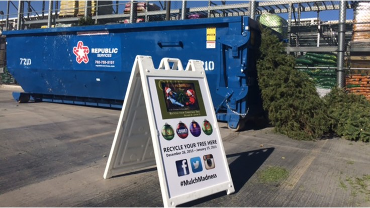 Christmas trees, lights head toward recycling destinations