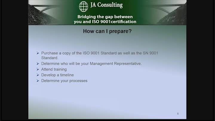 Webinar: Demystifying the ISO certification process