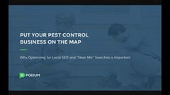 Webinar: Put Your Pest Control Business on the Map