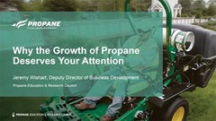 The growth of propane