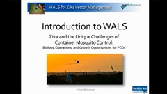 Webinar: Zika and Unique Challenges of Container Mosquito Control