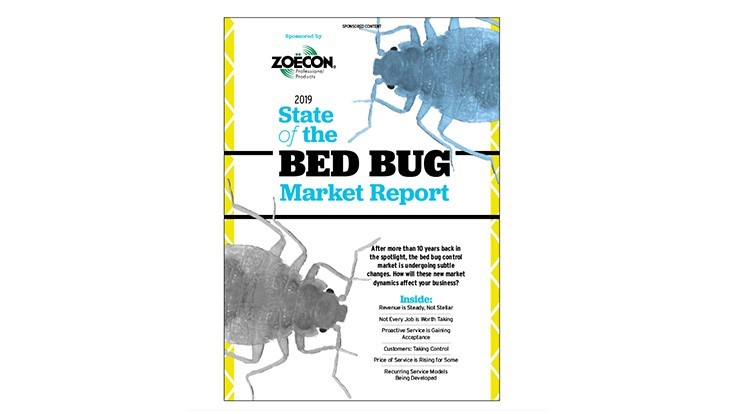 2019 State of the Bed Bug Market Report, Sponsored by Zoëcon