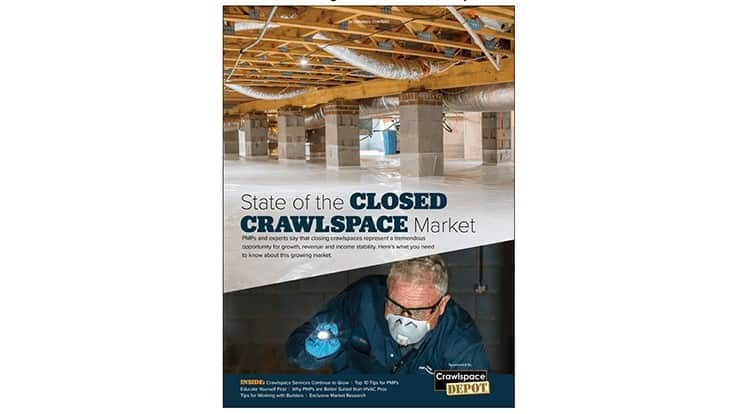 State of the Closed Crawlspace Market, Sponsored by Crawlspace Depot